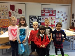 P 1/2 dressed up today.