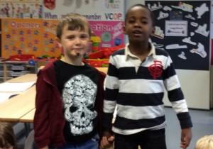 Daniel and James